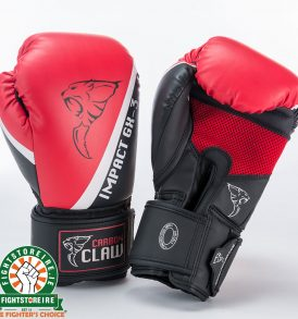 Carbon Claw Impact GX-3 Sparring Gloves - Red