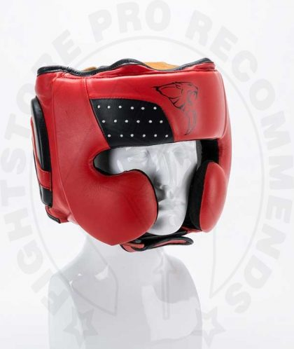 Carbon Claw Pro X Adjustable Leather Boxing Head Guard