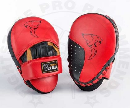 Carbon Claw Pro X Hook and Jab Curved Focus Mitts