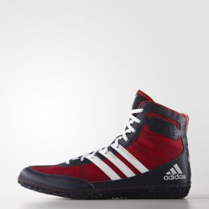 bddcb0ad611 ... coupon code adidas mat wizard 3 wrestling shoes scarlet navy 6f9ce  eded3 ...