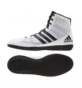 Adidas Mat Wizard 3 Wrestling Shoes - White