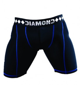 Diamond MMA Compression Jock Shorts and Cup System