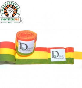 Rasta Hand Wraps from Deadly Fight Gear