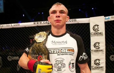 Alex Enlund Sponsored Fighter CWFC BELT FightstorePROi