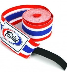 Fairtex Thai Flag 4.5m Stretch Wraps