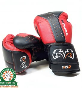 Rival RB10 Intelli-Shock Bag Gloves - Black/Red