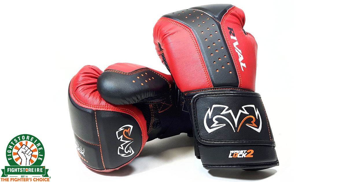 Rival Boxing d3o Intelli-Shock Bag Gloves Black//Navy