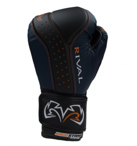 Rival RB10 Intelli-Shock Bag Gloves - Black and Navy