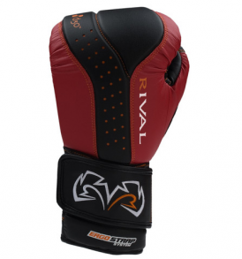 Rival RB10 Intelli-Shock Bag Gloves - Black and Red