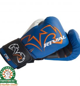 Rival RB11-Evolution Bag Gloves - Blue/White