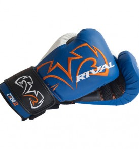 Rival RB11-Evolution Bag Gloves - Blue and White
