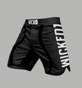 Wicked One EAGER MMA Fightshorts - Black