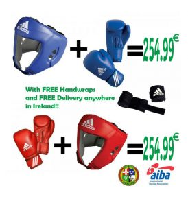 Adidas AIBA Bundle - FREE Wraps and FREE Delivery