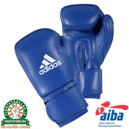 Adidas AIBA Licensed Boxing Gloves - Blue