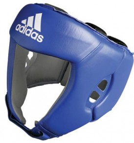 Adidas AIBA Licensed Head Guard - Blue