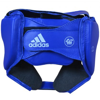 Adidas AIBA Licensed Head Guard - Blue