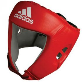 Adidas AIBA Licensed Head Guard - Red