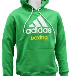 Adidas Boxing Hoody - Green/White