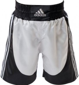 Adidas Boxing Shorts - Silver/Black