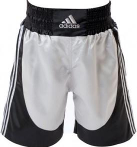 Adidas Boxing Shorts - Silver/Black