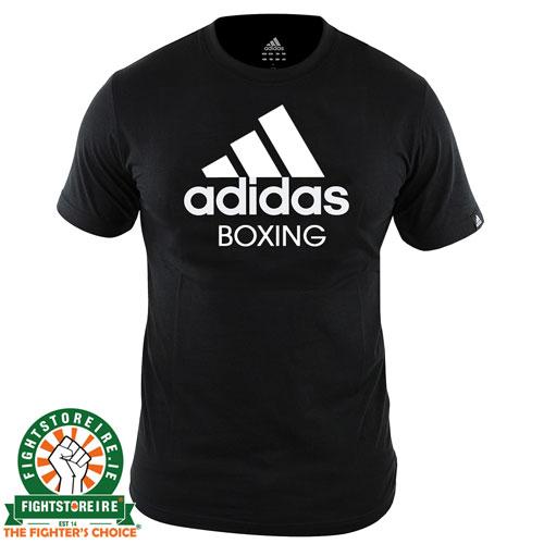 Adidas Boxing T Shirt Black Fight Store Ireland