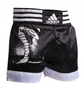 Adidas Cobra Design Thai Shorts - Black