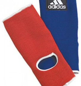 Adidas Reversible Ankle Pads - Blue/Red