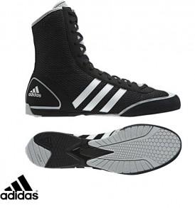 Adidas Rival II Boxing Boots - Black/Grey