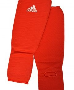Adidas Shin-n-Step Pads - Red