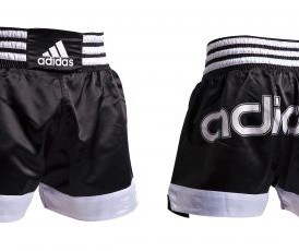 Adidas Thai Shorts - Black / Adidas Print