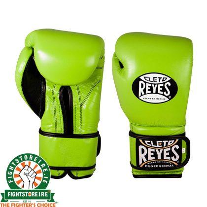 Cleto Reyes Velcro Sparring Gloves 16oz Green