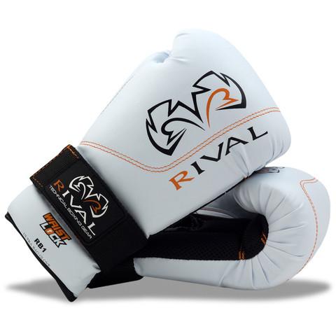 Rival RB1 Ultra Bag Gloves - White