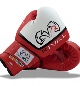 Rival RB40-Fitness Bag Gloves - Red