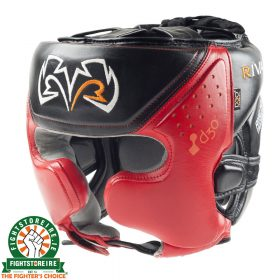 Rival RHG10 Intelli Shock Headguard - Red | Fightstore IRELAND