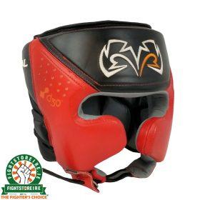 Rival RHG10 Intelli Shock Headguard - Red | Fightstore IRELAND