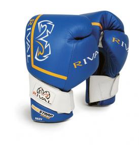 Rival RS2V Pro Sparring Gloves - Blue