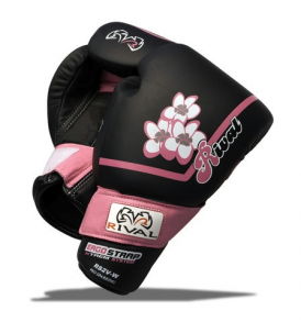 Rival RS2V-W Women Sparring Gloves - Black and Pink