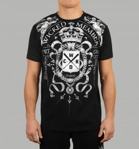 Wicked One Angels Tee - Black