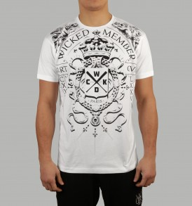 Wicked One Angels Tee - White