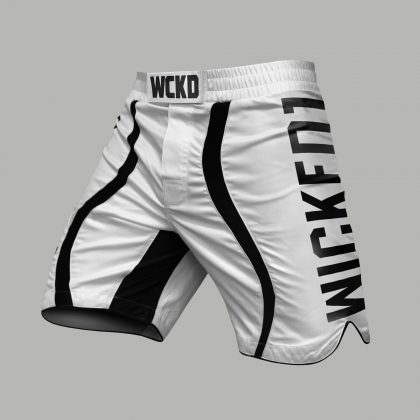 Wicked One EAGER MMA Fightshorts - White