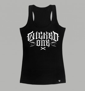 Wicked One Elvira Tank Top - Black