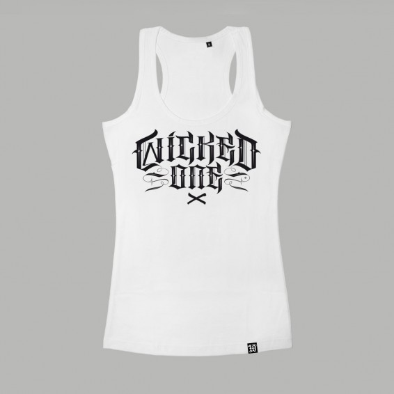 Wicked One Elvira Tank Top - White