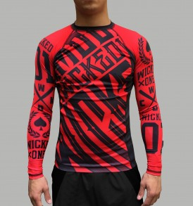 Wicked One Rashguard ML Furious - Red