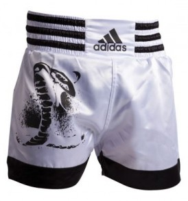 Adidas Cobra Design Thai Shorts - White