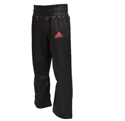 Adidas Kickboxing Satin Trousers - Red