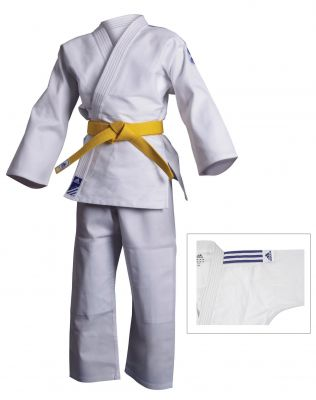 Adidas Kids Judo Uniform - White