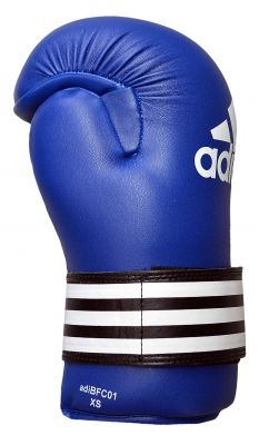 Adidas Semi Contact Gloves Pro - Blue