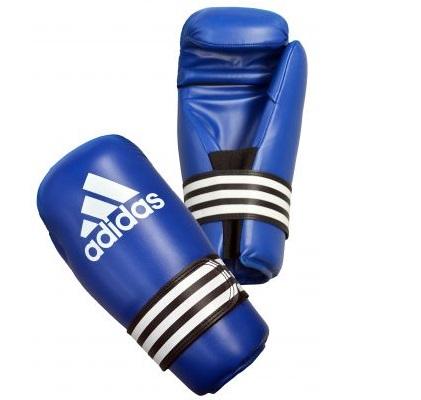 Adidas Semi Contact Gloves Pro - Blue