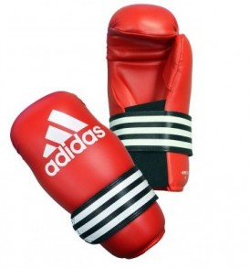 Adidas Semi Contact Gloves Pro - Red