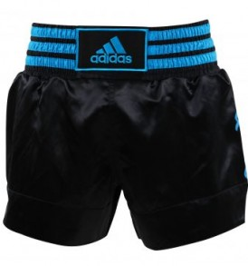 Adidas Thai Boxing Shorts - Black/Blue